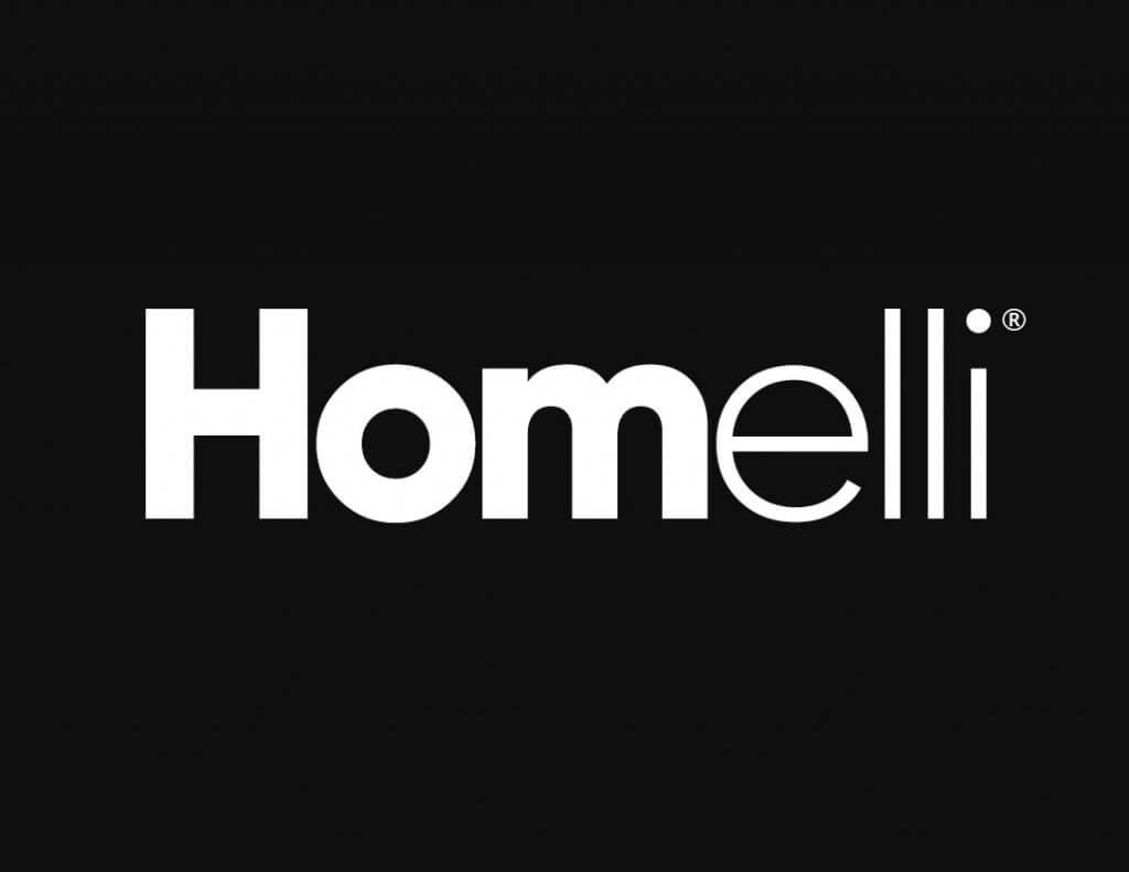 Homelli Logo Siyah